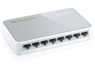 TP-Link TL-SF1008D Switch 10/100Mbps 8 PORTŮ